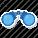 astronomy, binocular, binoculars, telescope, view, vision, zoom icon