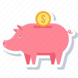 bank, budget, business, finance, investment, saving, savings icon