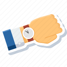 history, schedule, time, timer, wait, watch, wrist icon