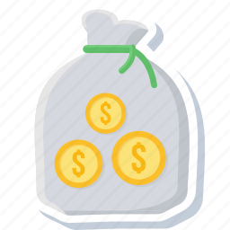 bag, bank, business, currency, finance, financial, money icon