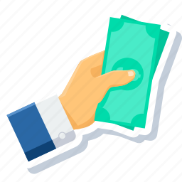 credit, currency, dollar, finance, investment, loan, money icon