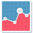 analytics, bar, chart, diagram, graph, report, statistics icon