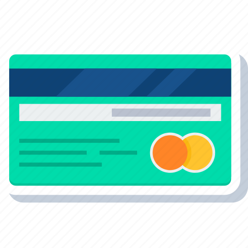bank, buy, card, debit, pay, payment, shop icon