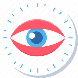 explore, eye, eyes, look, see, view, vision icon