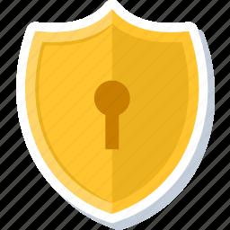 antivirus, firewall, guard, insurance, key, password, shield icon