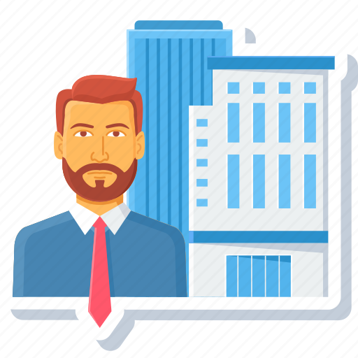 building, city, country, head, hod, manager, state icon