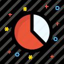 bar chart, diagram, report, statistics icon icon