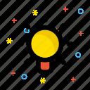 brainstorming, business idea, creativity, light bulb icon icon