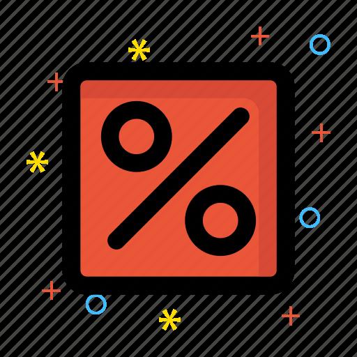 finance calculator, mortgage loan, percentage icon icon