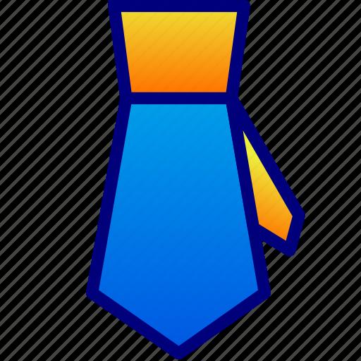 business, dress, tie icon