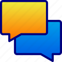 conversation, discussion, vectoyland icon
