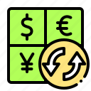 calculator, currency, dollar, exchange