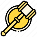 auction, hammer, justice, law