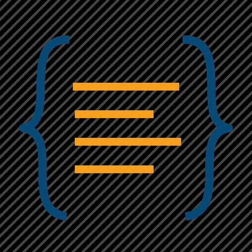 api, code, coding, css, development, front end, html, program, programming icon