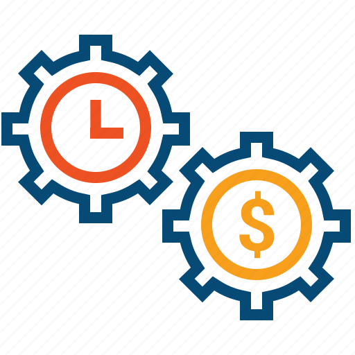 effectiveness, efficiency, money, optimization, optimize, performance, rate, spend, time icon