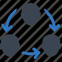 communication, team, teamwork icon