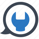 seo consulting, seo support, technical service icon