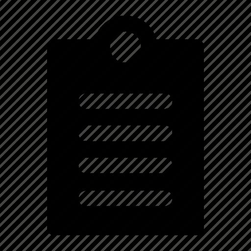 Clipboard, data, document, file, folder, format, paper icon - Download on Iconfinder