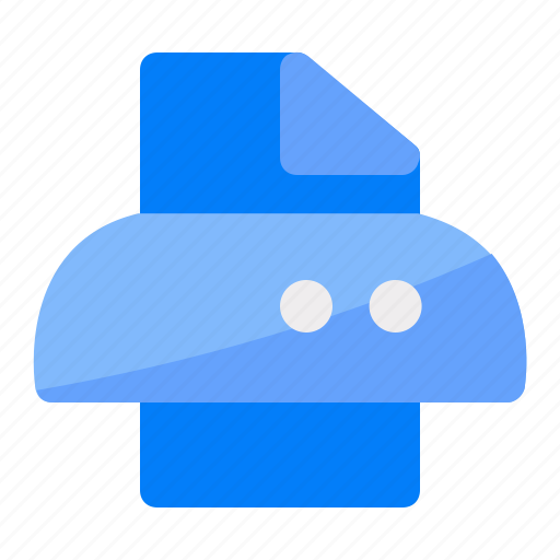 Data, document, paper, print, printer, printing icon - Download on Iconfinder