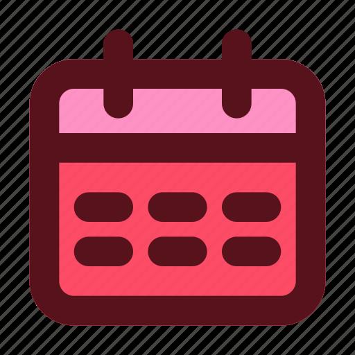 agenda, business, date, management, reminder, schedule icon