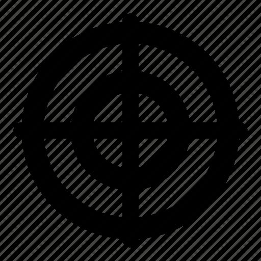 business, management, marketing, target icon