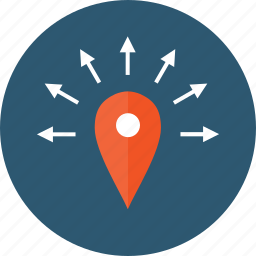 any direction, anywhere, delivery, directions, distribution, distributor, geozone, logistics, marketing, near, nearby, pin, pinpoint, spread, zones icon