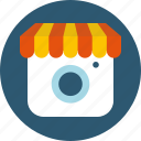 business, commerce, instagram, marketing, online, shop, store icon