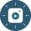 instagram, stories, video icon