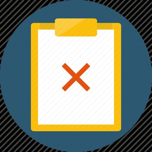 cancel, close, decline, deny, inappropriate, reject, remove, stop icon