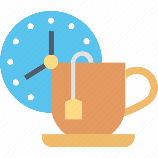 Break, time, clock, cup, schedule, tea icon - Download on Iconfinder