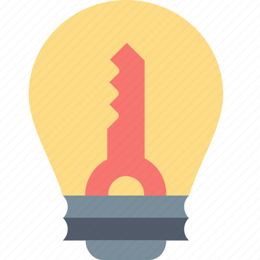 Idea, key, business, creative, innovation, lamp, solution icon - Download on Iconfinder