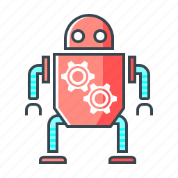 android, artificial intelligence, droid, innovation, robot, technology icon