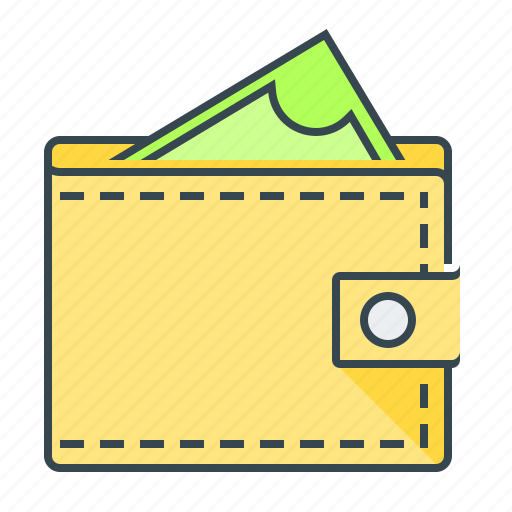 dollar, finance, money, payment, profit, purse icon