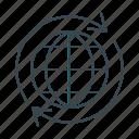 global, earth, globe, international, internet, planet icon