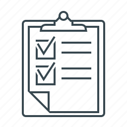 brief, document, form, order, questionnaire icon
