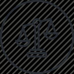 balance, business, line, marketing, plan, strategy icon