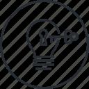 business, idea, key, line, marketing