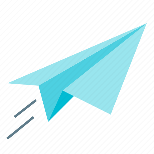 fly, launch, paper plane, reputation icon