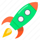 mission, rocket, start up, start-up, strart icon