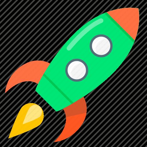 mission, rocket, start up, start-up, strart icon