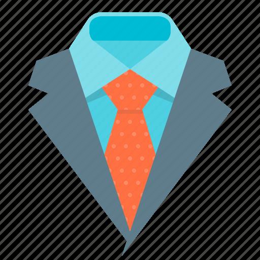 business, collar, presentation, tie icon