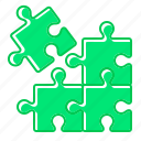 game, puzzle, solution icon