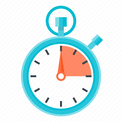 stopwatch, time management, timer icon