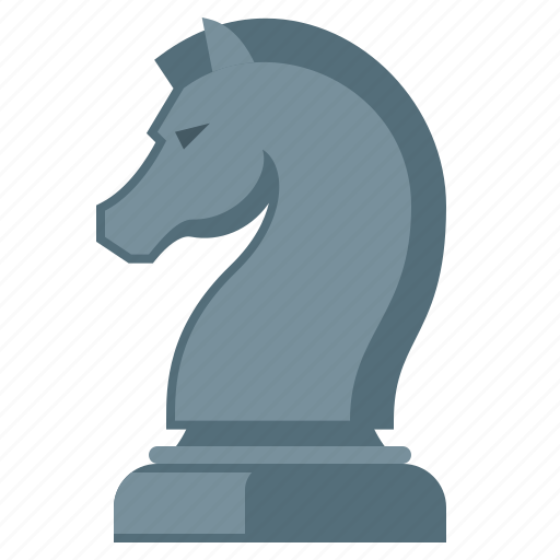 chess figure, figure, horse, strategy icon