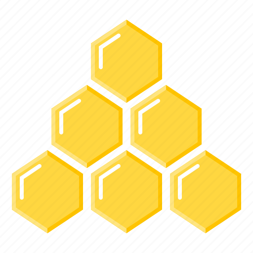 hierarchy, honeycomb, marketing, network marketing, structure icon