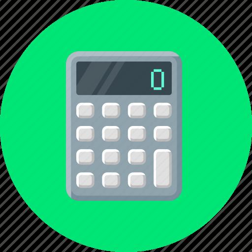 Calculate, calculating, calculation, calculator icon - Download on Iconfinder
