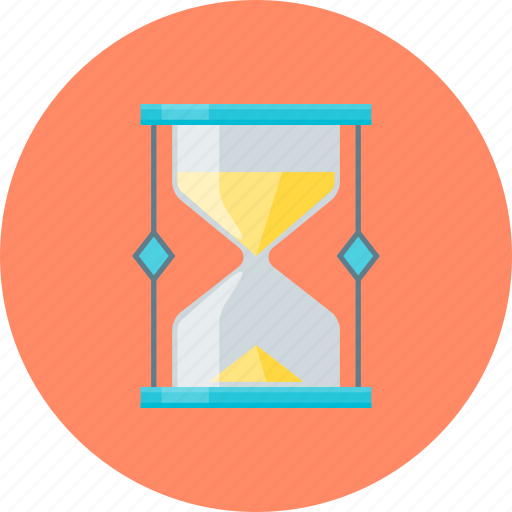 deadline, hourglass, time, timer icon