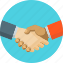 agreement, business, handshake, partners icon