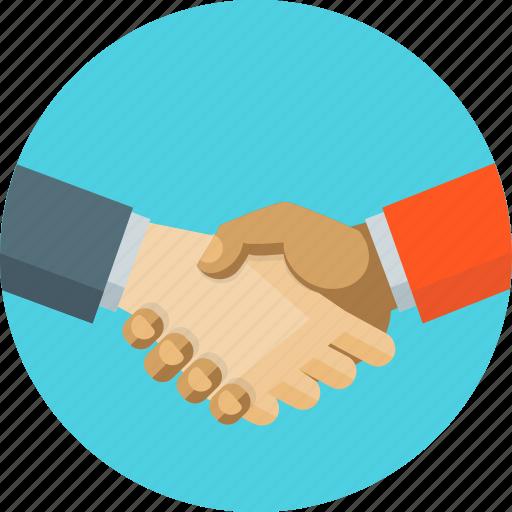 agreement, business, handshake, partners icon