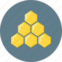 hierarchy, honeycomb, network marketing, structure icon